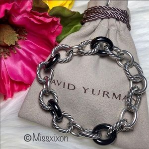 ❤️ David Yurman - Ceramic Large Oval Link Bracelet